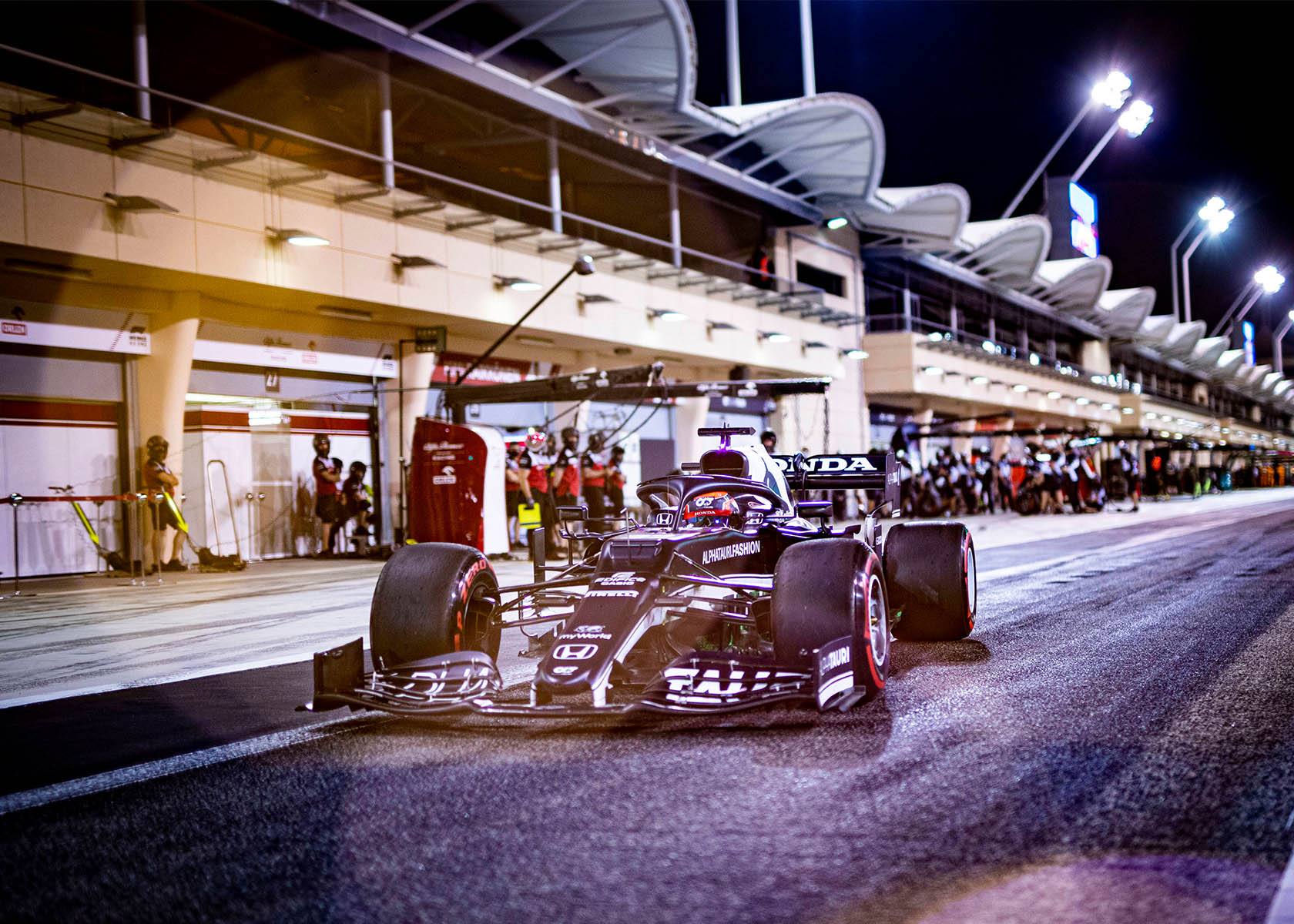 Start der Formel 1 2021 mit Yuki Tsunoda