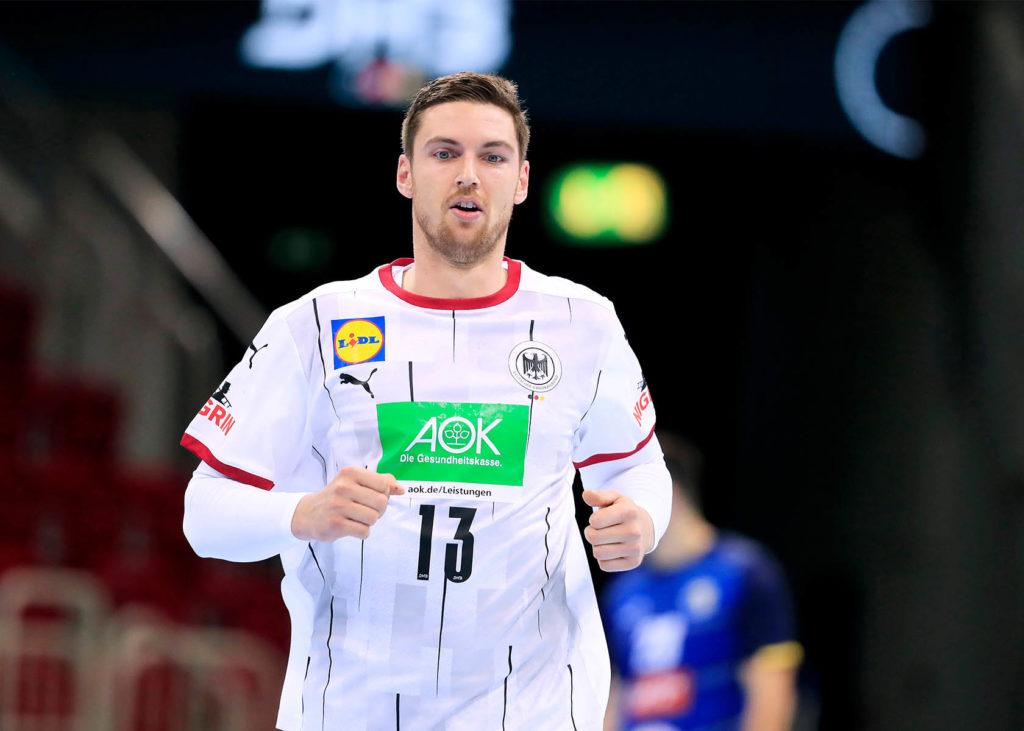 Handball Olympia Qualifikation mit Deutschlands Hendrik Pekeler