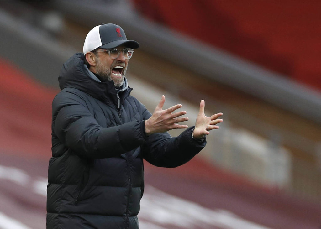 Liverpool Krise trifft Trainer Jürgen Klopp