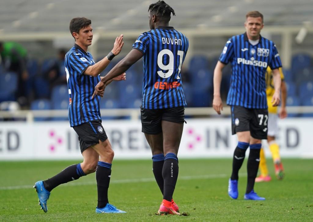 Jubelt Zapata mit Atalanta Bergamo auch am Sonntag gegen Juventus?