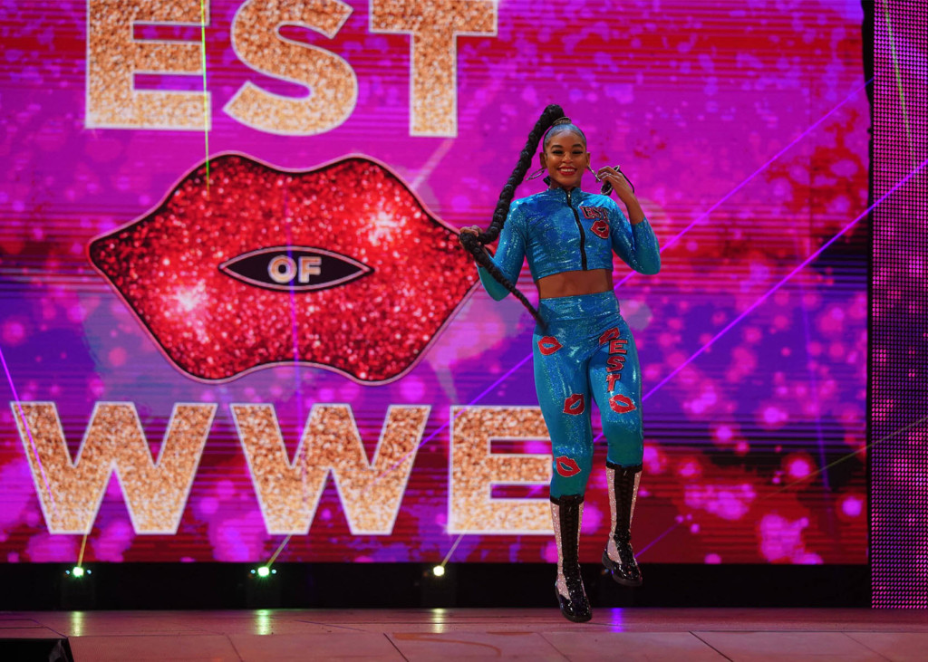 WrestleMania 37 mit Bianca Belair