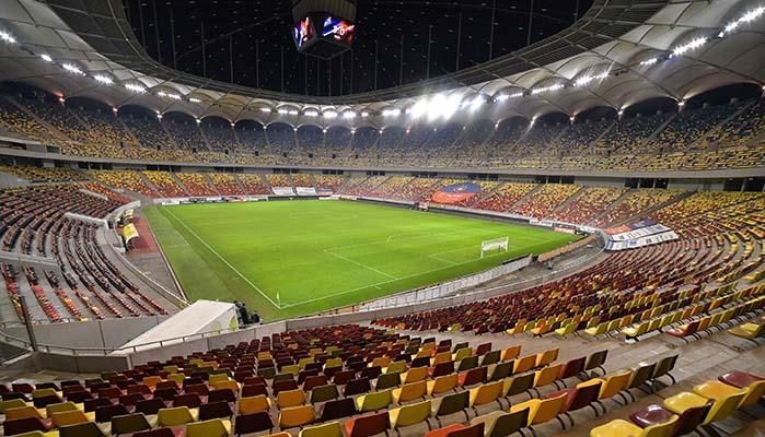 EM 2021 Stadien mit Bukarest