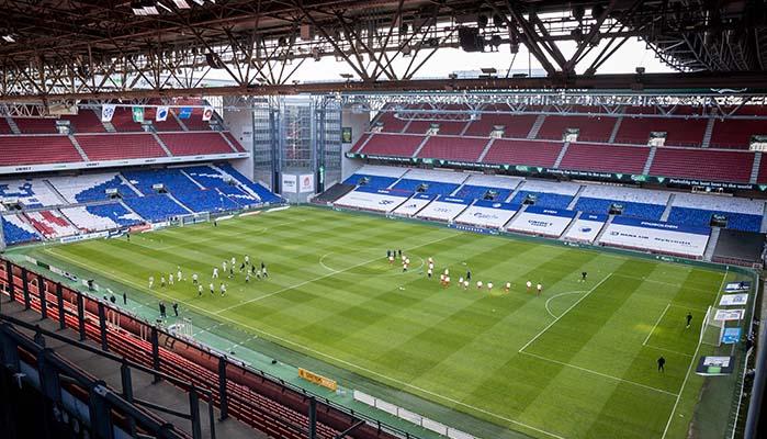 EM 2021 Stadien mit Kopenhagen