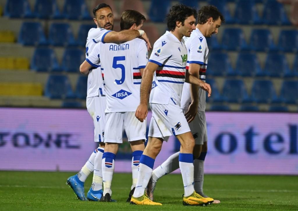 Punktet Sampdoria im Heimspiel gegen AS Rom?