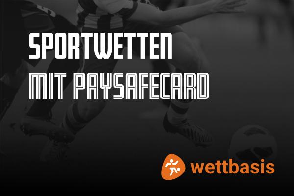 Sportwetten mit Paysafecard