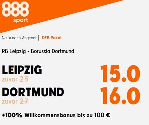 DFB Pokal gratis wetten