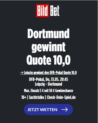 DFB Pokal quoten boost