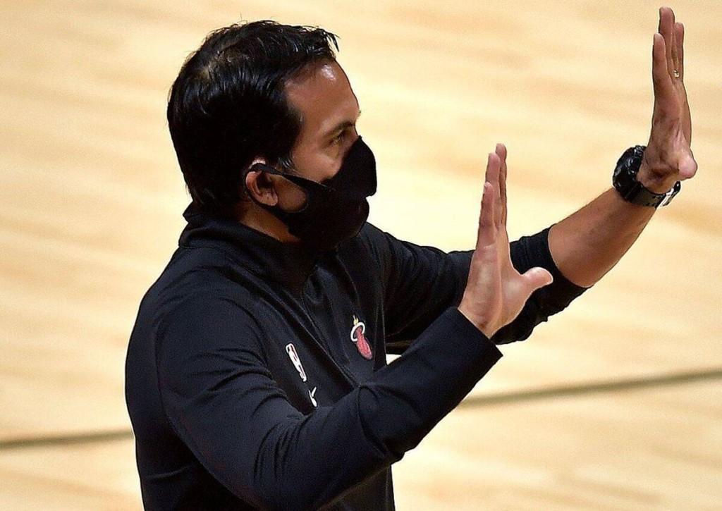 Führt Headcoach Spoelstra seine Heat zum Sieg gegen die Celtics?