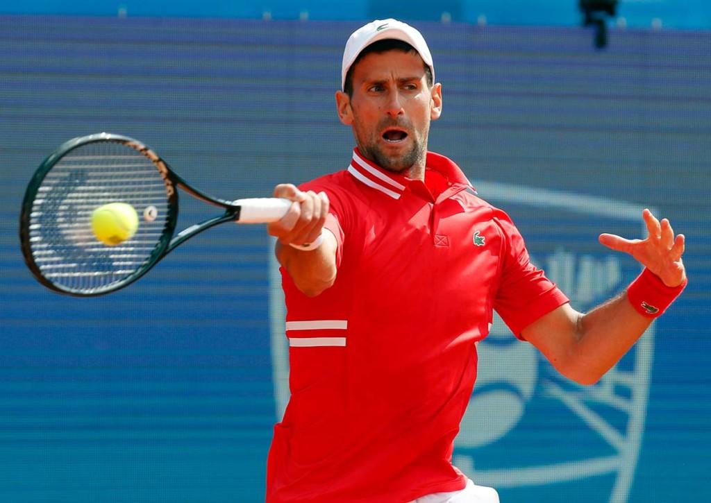 Novak Djokovic Tennys Sandgren Tipp