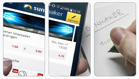 Sunmaker Web-App
