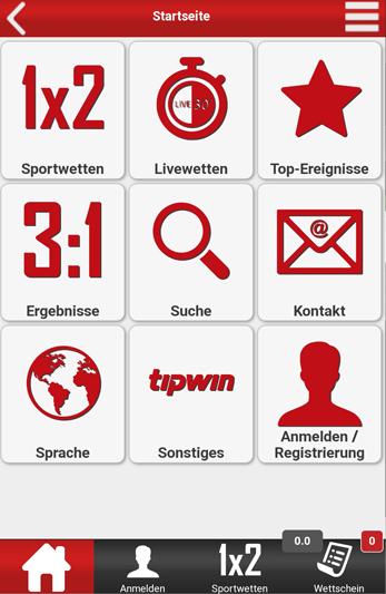 Tipwin Web-App 2021