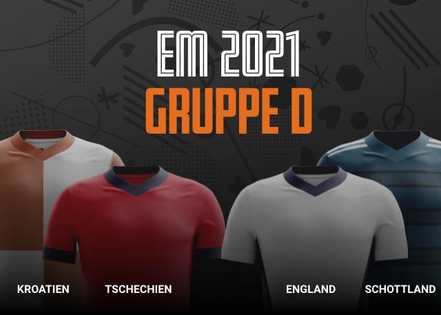 EM 2021 Gruppe D