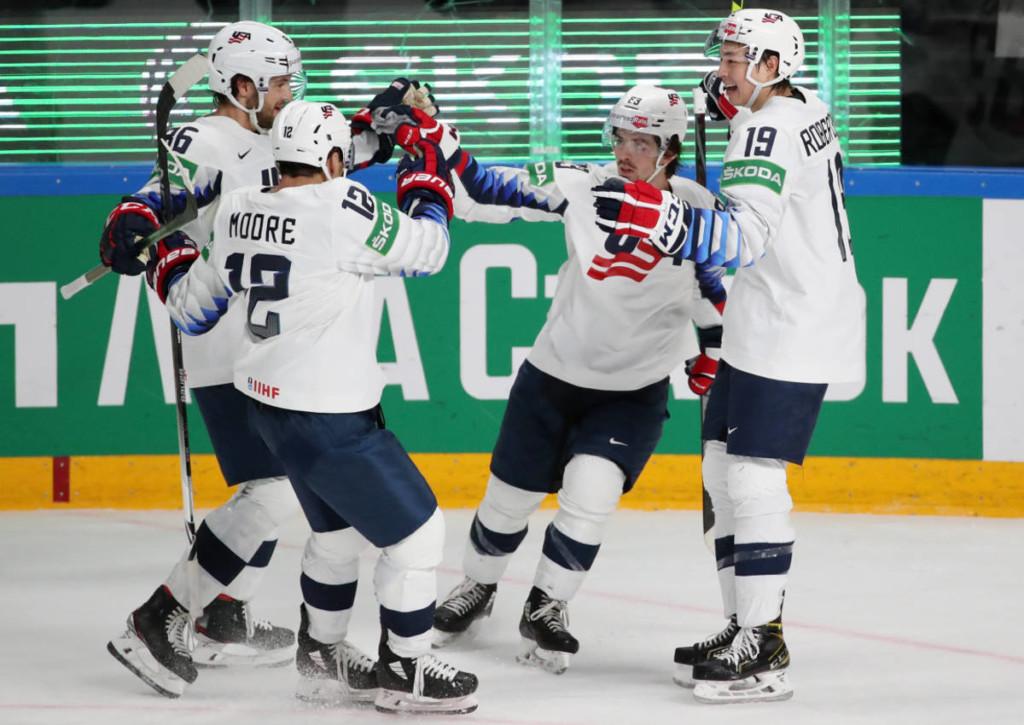 Wird die USA gegen die Slowakei im Viertelfinale ihrer Favoritenrolle gerecht?