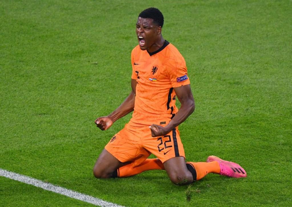 Kann Denzel Dumfries auch im Spiel von Holland gegen Österreich wieder jubeln?
