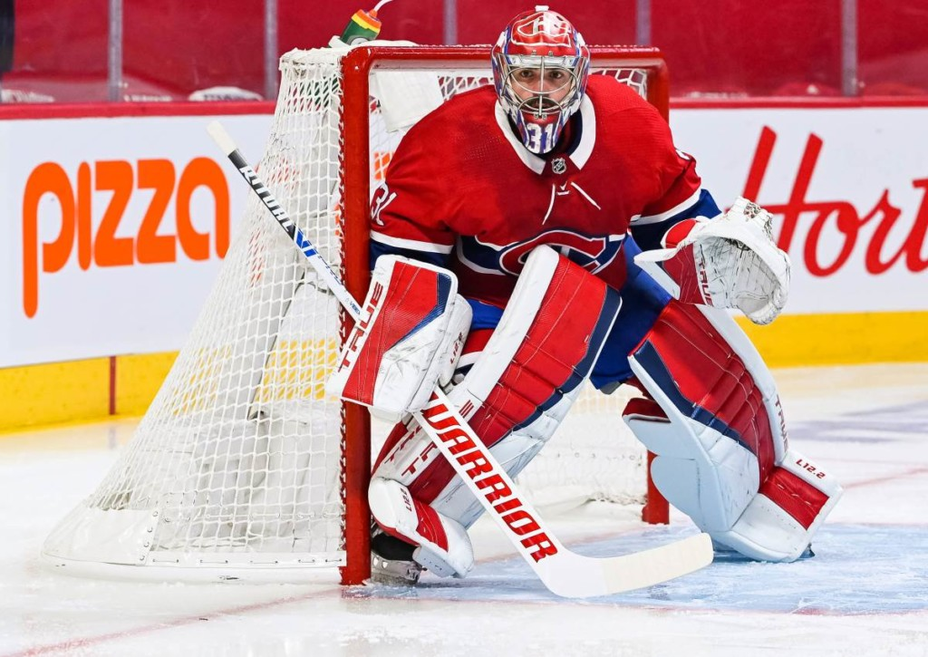 Erwischt Goalie Price von den Canadiens auch in Spiel 1 gegen die Knights einen Sahnetag?