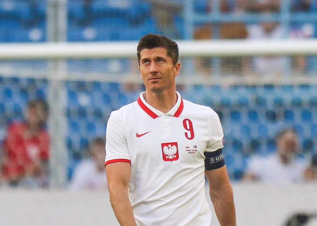 Polen - Slowakei EM 2021 Robert Lewandowski
