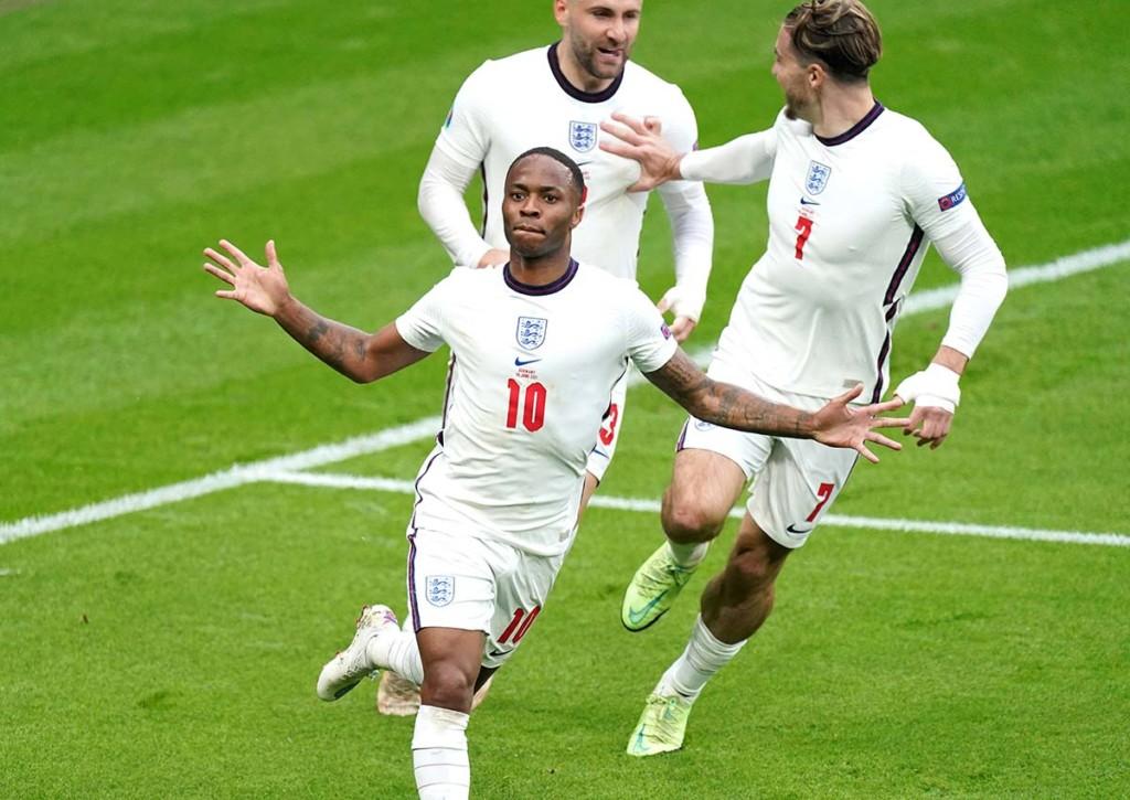 Erreicht Raheem Sterling mit England das Halbfinale der Europameisterschaft? © IMAGO / PA Images, 29.06.2021