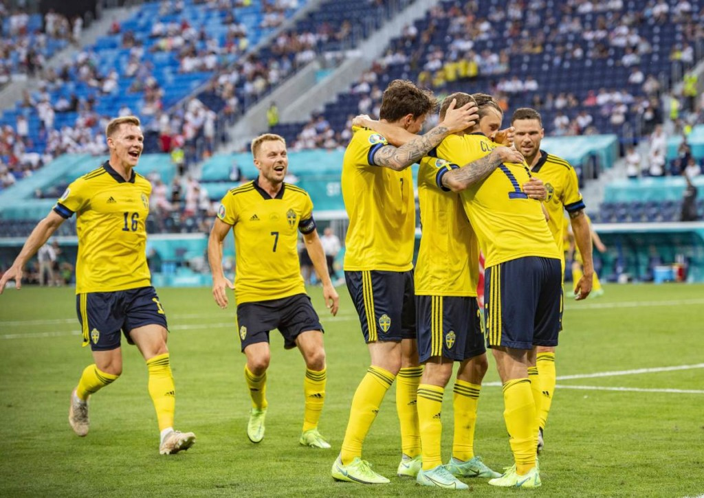Gelingt Schweden gegen die Ukraine der Sprung ins EM-Viertelfinale?