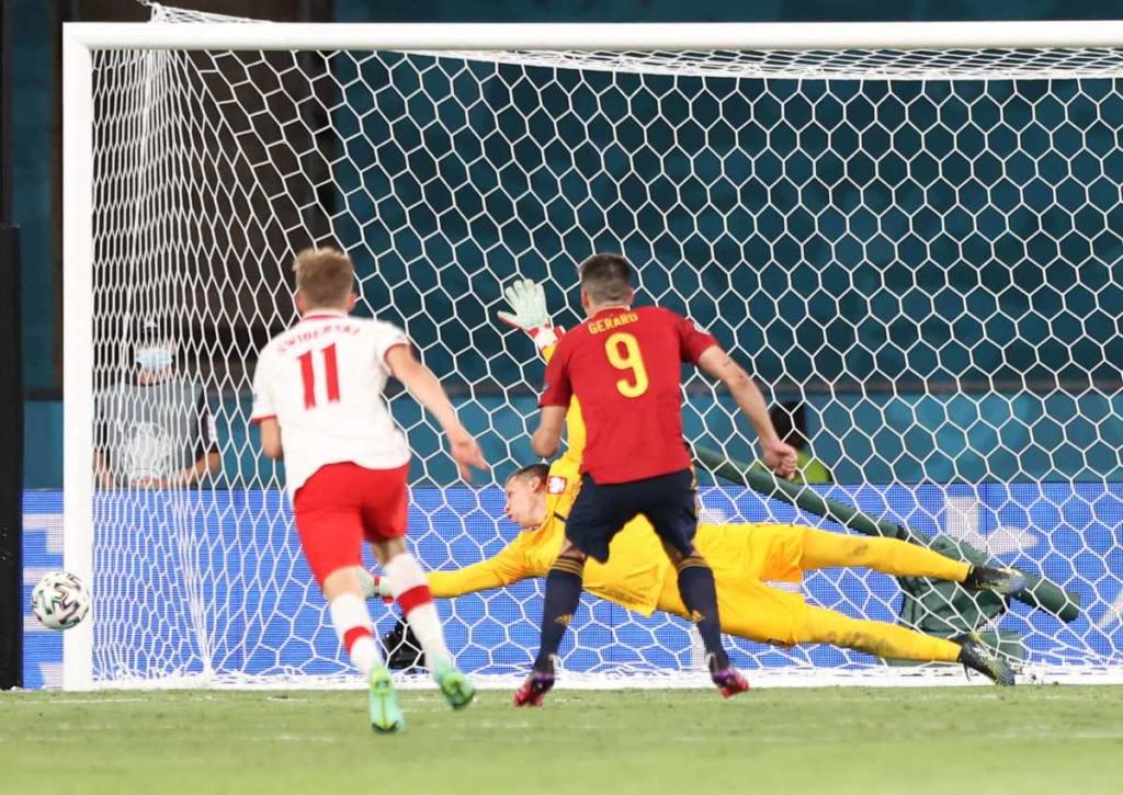 Kann Moreno mit Spanien auch gegen die Slowakei offensiv nicht überzeugen?