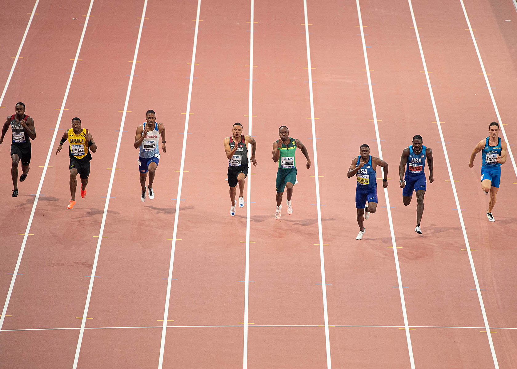 100m Finale Olympia 2021