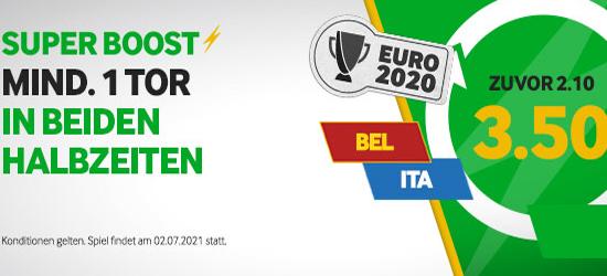 Betway Belgien - Italien Wetten Boost