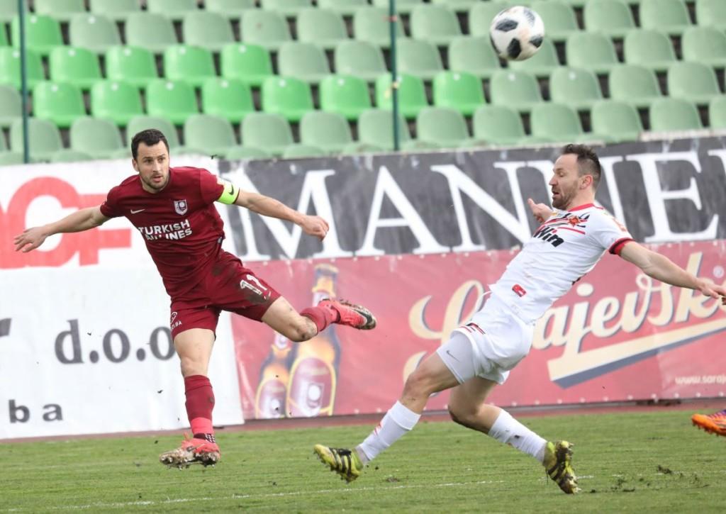 Schießt Velkoski FK Sarajevo gegen Milsani in die nächste Runde?