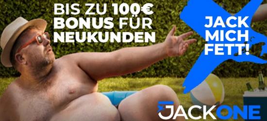 JackOne EM Bonus für Ukraine - England