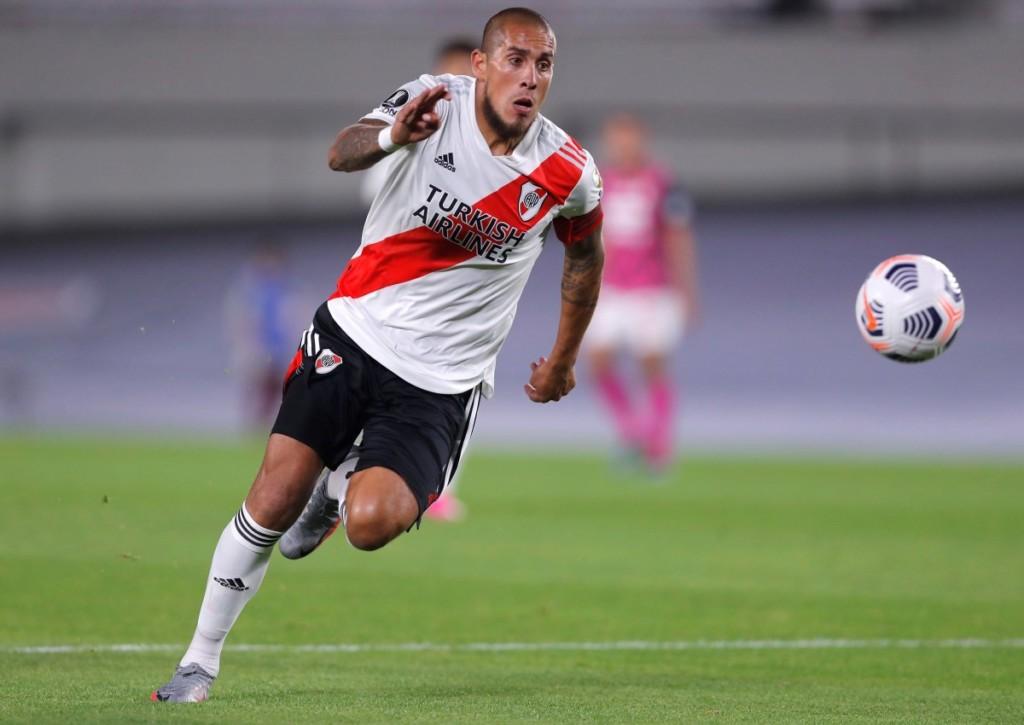 Muss Maidana mit River Plate schon im Copa-Achtelfinale gegen die Argentino Juniors die Segel streichen?