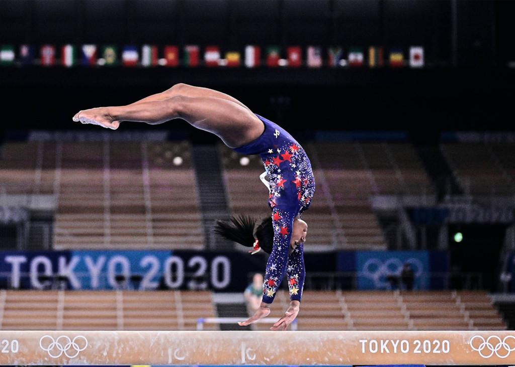 Simone Biles Olympia 2021