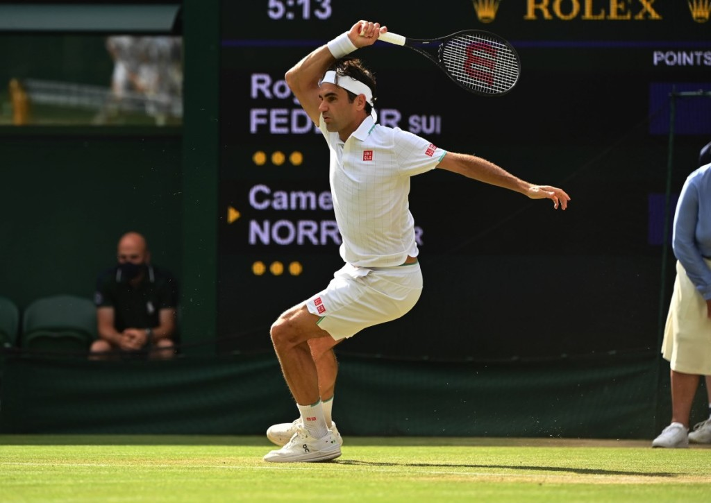 Zieht Federer gegen den Polen Hurkacz ins Halbfinale von Wimbledon ein?