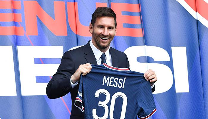 PSG Messi Champions League