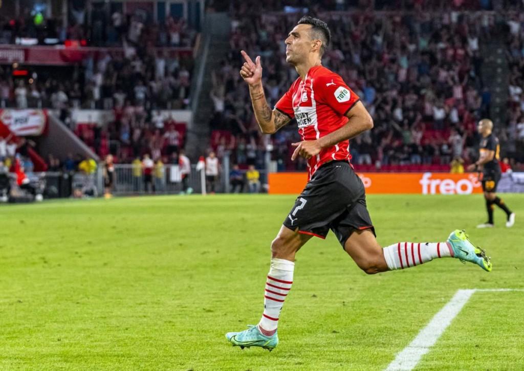 Trifft Eran Zahavi für PSV Eindhoven auch gegen Midtjylland?