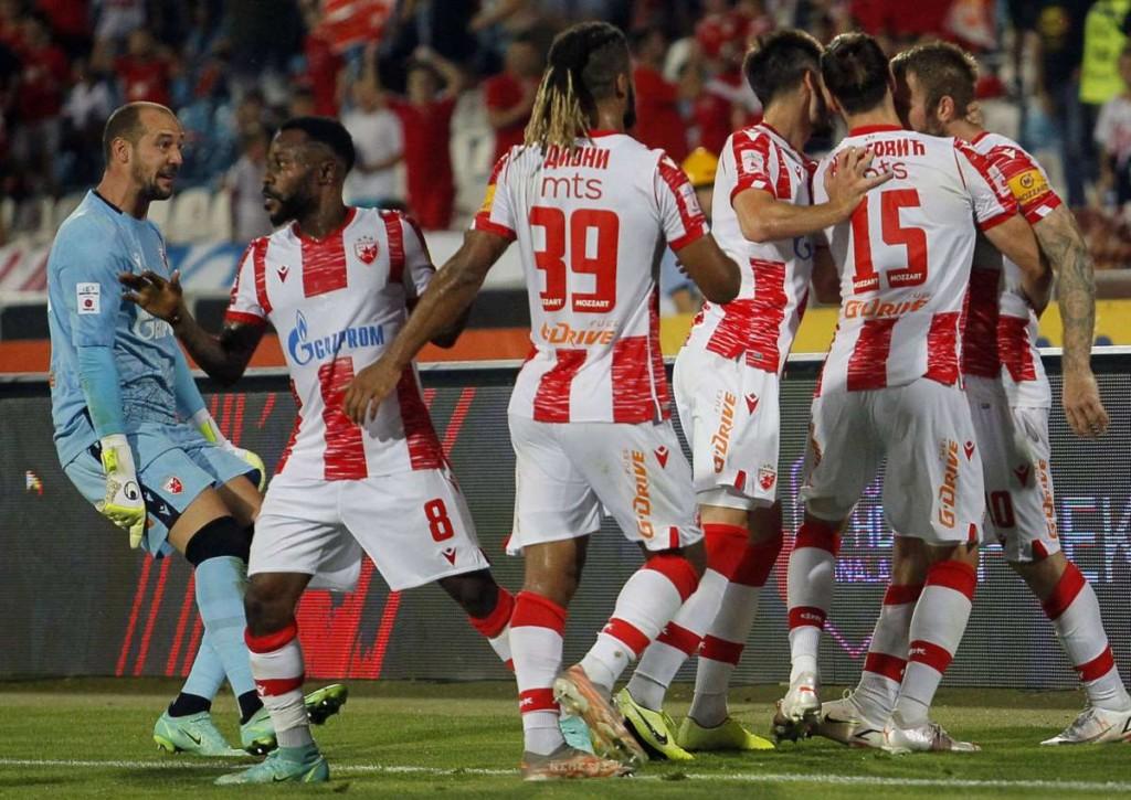 Landet Roter Stern Belgrad gegen den FC Sheriff im Hinspiel einen hohen Erfolg?