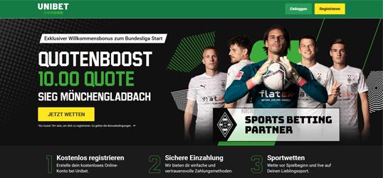 Unibet Bundesliga Tipp Aktion Gladbach - Bayern