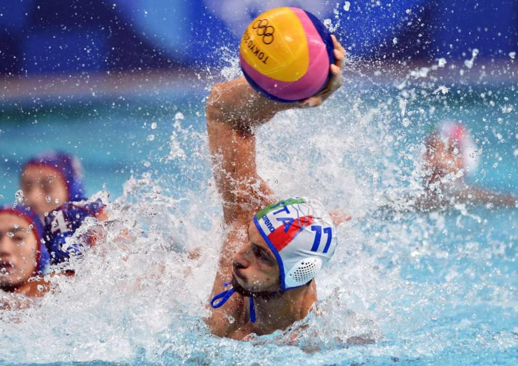 Überzeugt Italien gegen Serbien im olympischen Wasserball-Viertelfinale auch offensiv?