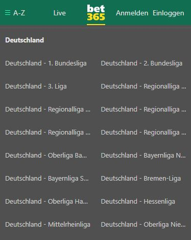bet365 sportwetten deutschland