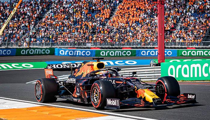 Holland GP mit Max Verstappen