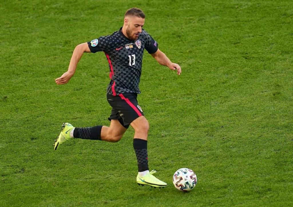 Kroatien (hier im Bild: Nikola Vlasic) will gegen Slowenien einen großen Schritt in Richtung WM machen.