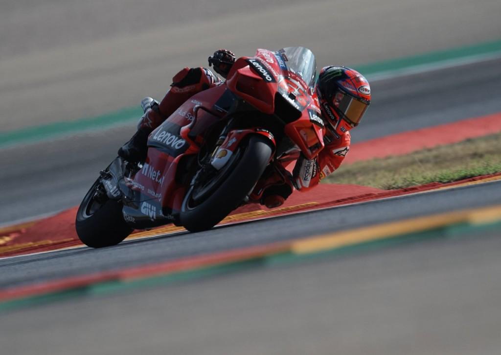 Holt sich Francesco Bagnaia beim Moto GP in Aragonien den Sieg?