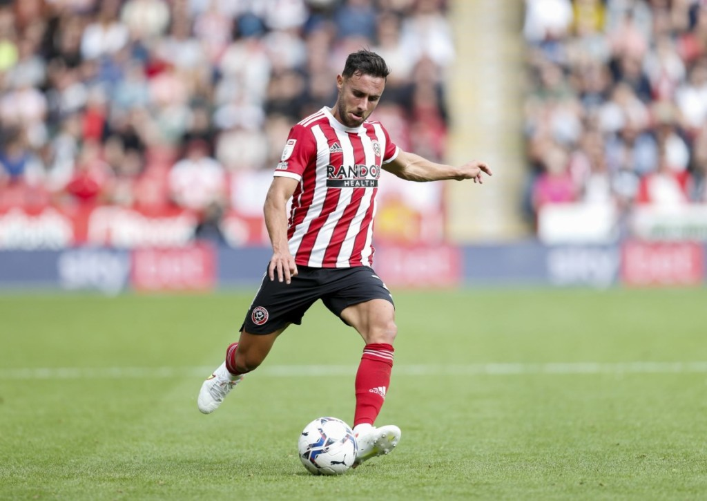 Für George Baldock und Sheffield United geht es gegen Preston um den zweiten Saisonsieg.