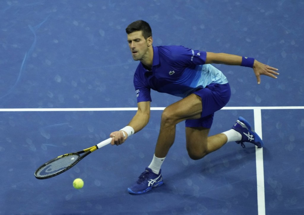 Holt Novak Djokovic im Finale der US Open gegen Daniil Medvedev den Grand Slam?