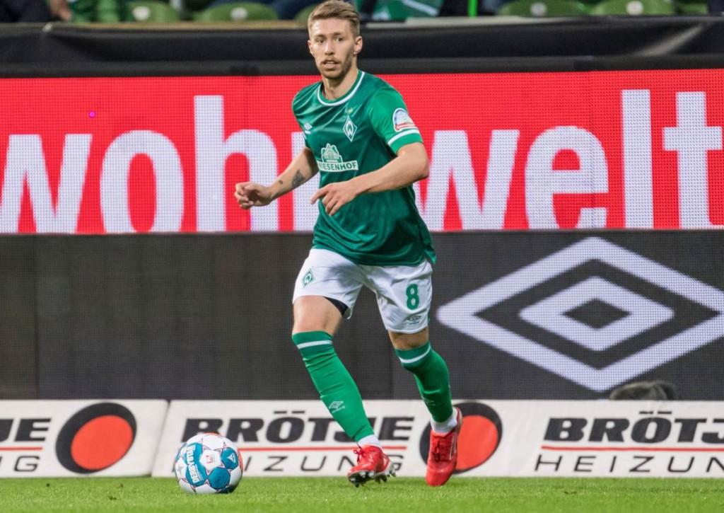 Gab es vor der Partie Dresden gegen Bremen Regelkunde für Mitchell Weiser?