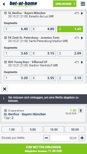 Bet-at-home Wetten